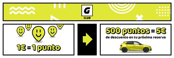 club goldcar alquiler de coches