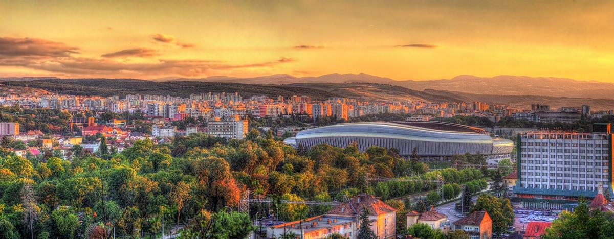 Aeroporto Romania : Noleggio auto cluj aeroporto romania goldcar ufficio