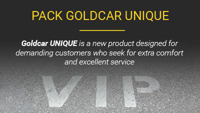 Highlights Goldcar Unique Package