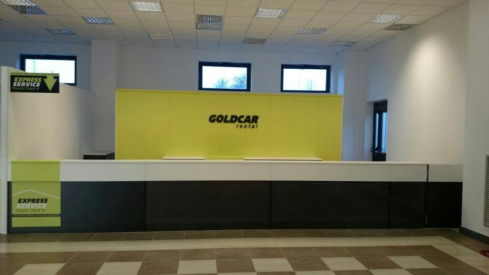 Goldcar rental offices for your car hire in spain for Oficinas goldcar
